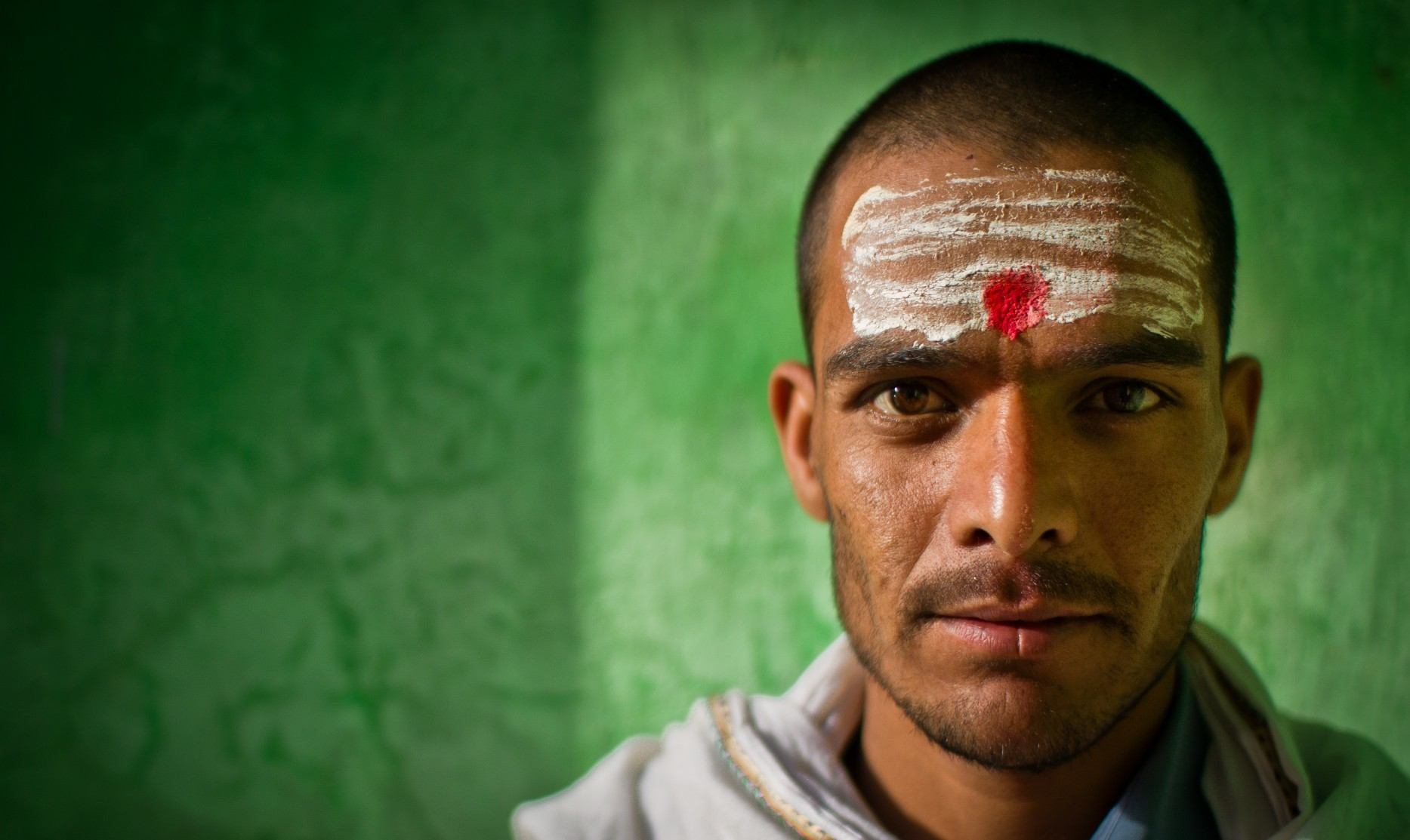 A Nepali Priest in Varanasi, India, Asia photography travel beijing photographer portrait