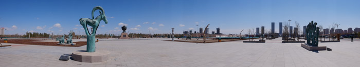 ordos panos 5 A ghost city, with a new look.