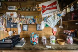 The gift shop at Cruz del Vigia