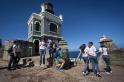 A school trip to El Morro Fort